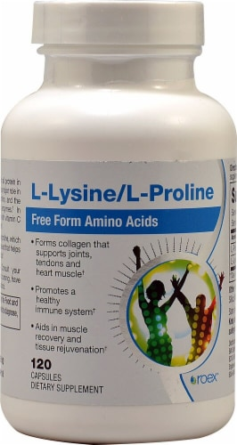 Roex  L-Lysine and L-Proline Perspective: front