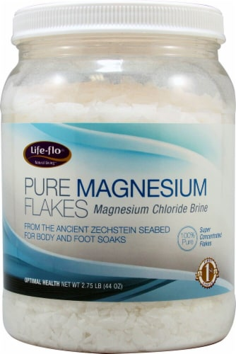 Life-Flo  Pure Magnesium Flakes Perspective: front