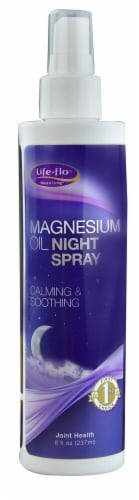 Life-Flo  Magnesium Oil Night Spray Perspective: front