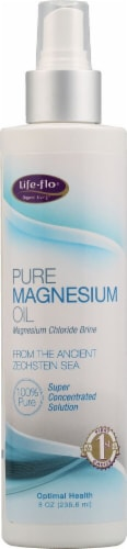 Life-Flo  Pure Magnesium Oil Perspective: front