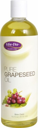 Life-Flo  Pure Grapeseed Oil Perspective: front