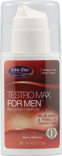 Life-Flo Testro Max For Men Body Cream Perspective: front