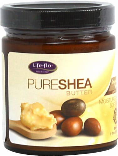 Life-Flo  Organic Pure Shea Butter Perspective: front