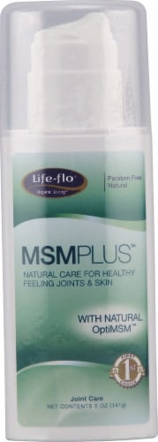 Life-Flo  MSM Plus™ Maximum Strength Cream Perspective: front