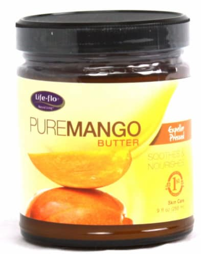Life-Flo  Pure Mango Butter Perspective: front
