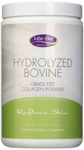 Life-Flo Radiant Skin Hydrolyzed Bovine Unflavored Collagen Powder Perspective: front
