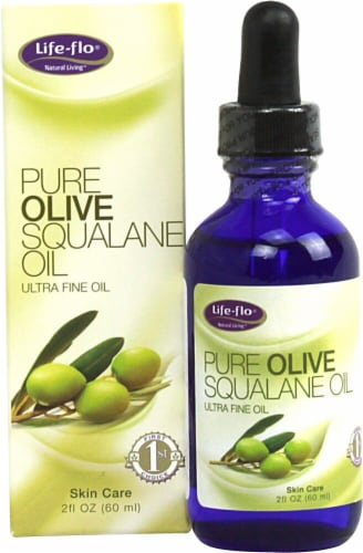 Life-Flo  Pure Olive Squalane Oil Perspective: front