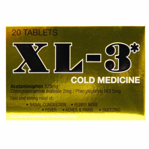 Xl-3 Cold Medicine Perspective: front