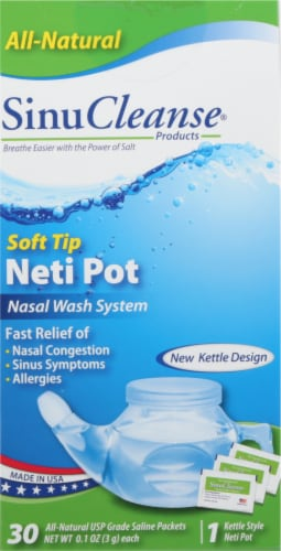 SinuCleanse Neti Pot Perspective: front