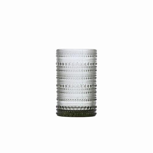FORTESSA Jupiter Iced Beverage Glass - Smoke Perspective: front