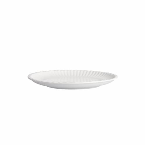 Fortessa Street Eats Paper Plate Style Melamine Plate Perspective: front