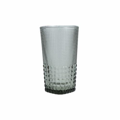 FORTESSA D&V Malcolm Iced Beverage Cocktail Glasses - 6 Pack - Gray Perspective: front