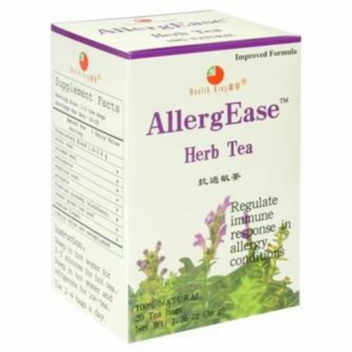 Health King Medicinal Tea Allergease Perspective: front