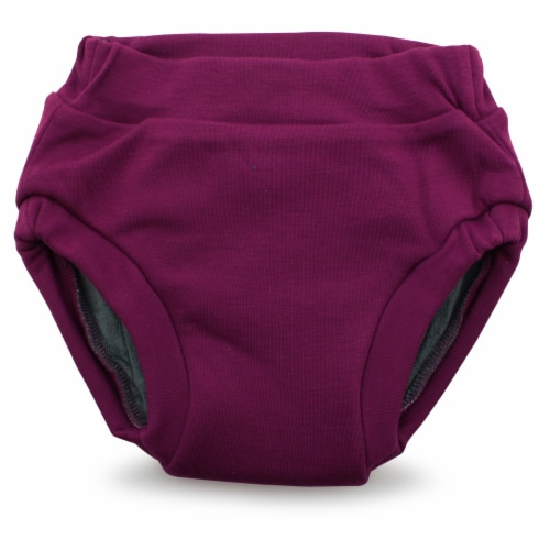 Ecoposh OBV Training Pants Boysenberry Small 1T/2T Perspective: front