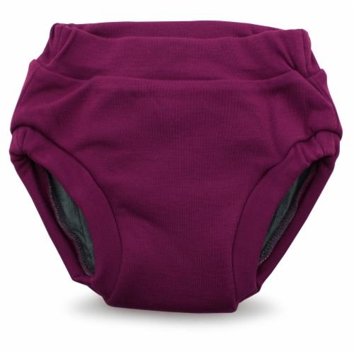 Ecoposh OBV Training Pants | Boysenberry (Purple) Medium 2T/3T Perspective: front