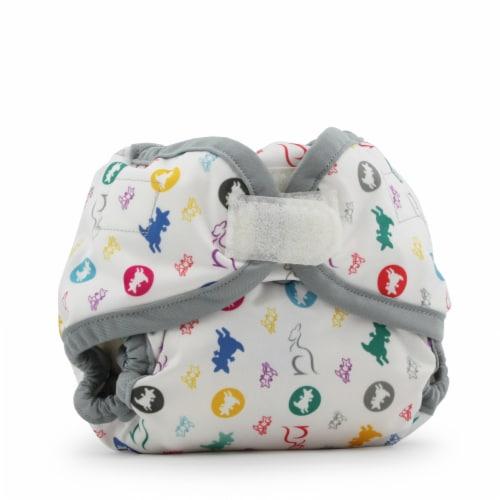 Kanga Care Rumparooz Newborn Reusable Cloth Diaper Cover Aplix | Roozy Perspective: front