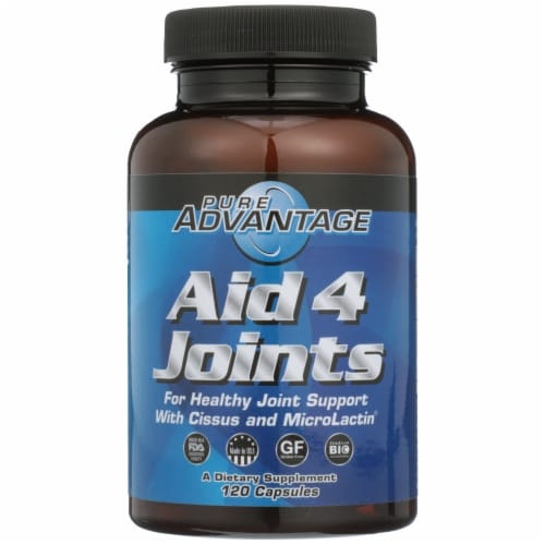 Pure Advantage Aid 4 Joints Capsules Perspective: front