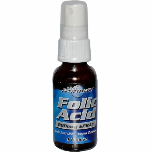 Pure Advantage  Folic Acid Perspective: front