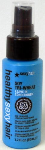 Healthy Sexy Hair Soy Tri-Wheat Leave-In Conditioner Perspective: front