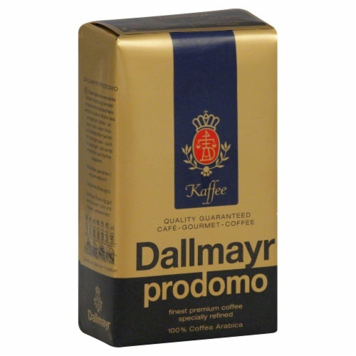 Dallmayr Prodomo Refined Coffee Perspective: front