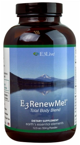 E3Live  E3RenewMe!® Total Body Blend Perspective: front