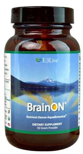 E3Live  BrainON® Powder Perspective: front