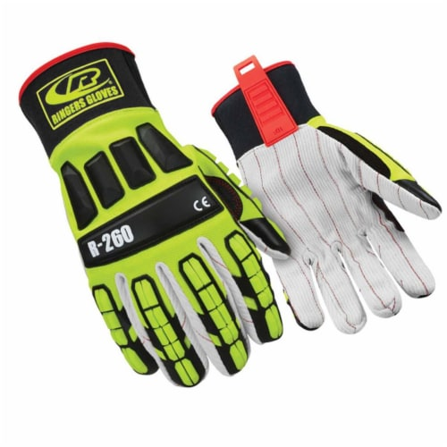 Ringers Gloves Mechanics Gloves,L,10 ,PR  260 Perspective: front
