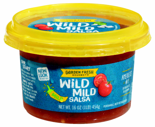 Garden Fresh Gourmet Wild Mild Salsa Perspective: front