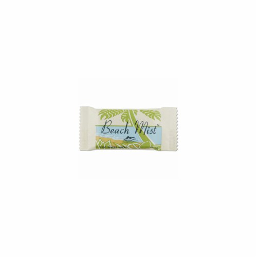 Bhm NO15A Face and Body Soap, Beach Mist Fragrance, 1.5 oz. Perspective: front