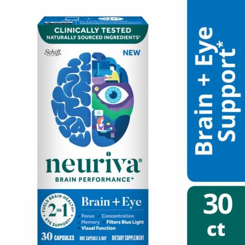Neuriva Brain Performance Brain + Eye Capsules Perspective: front