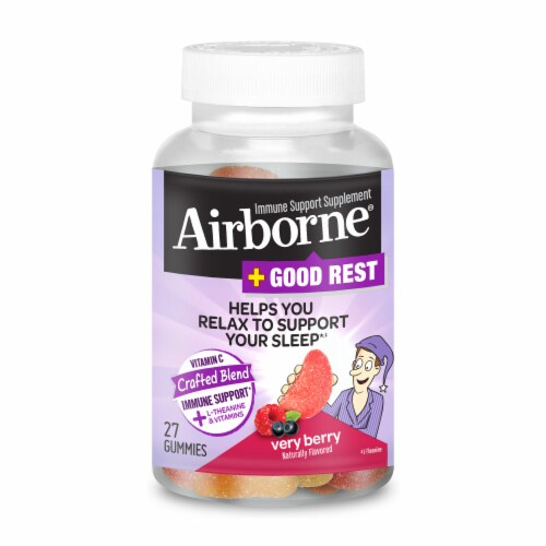Jay C Food Stores - Airborne + Good Rest Very Berry Immune