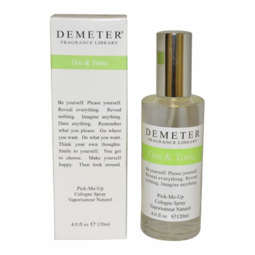 Demeter Gin and Tonic Cologne Spray 4 oz Perspective: front