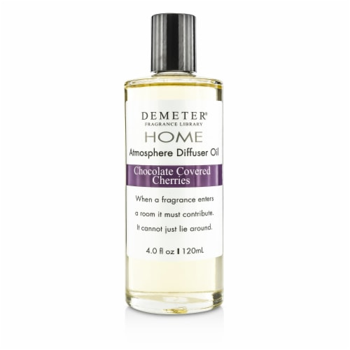 Demeter Atmosphere Diffuser Oil  Chocolate Covered Cherries 120ml/4oz Perspective: front