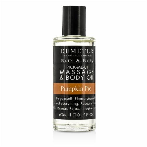 Demeter Pumpkin Pie Massage & Body Oil 60ml/2oz Perspective: front