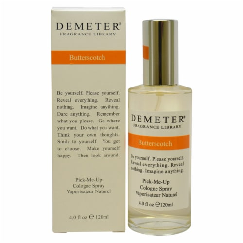 Demeter ButterScotch Cologne Spray 4 oz Perspective: front