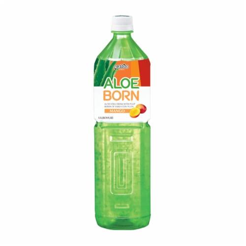 Paldo Aloe Born Mango Aloe Vera Drink Perspective: front