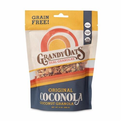 GrandyOats Original Coconola Coconut Granola Perspective: front