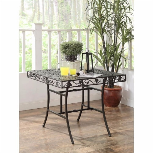 IVY LEAGUE Square dining Table Perspective: front