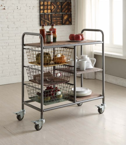 Urban Collection Kitchen Trolley Perspective: front