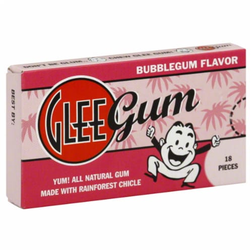 Glee Gum Bubblegum Perspective: front