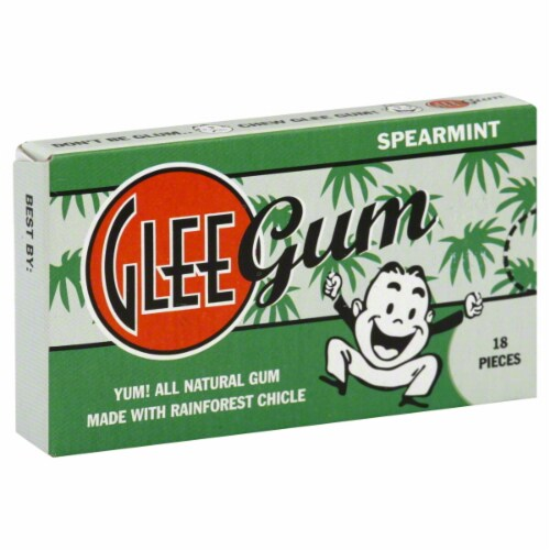 Glee Gum Spearmint Perspective: front