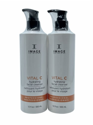 Image Skincare Vital C Hydrating Facial Cleanser 12 OZ Set of 2 Perspective: front