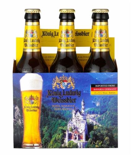 König Ludwig Weissbier Royal Bavarian Hefeweizen Perspective: front