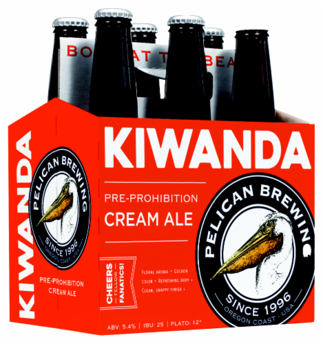 Pelican Brewery Kiwanda Cream Ale Perspective: front