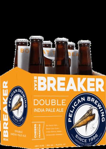 Pelican Brewing Beak Breaker Double IPA Perspective: front