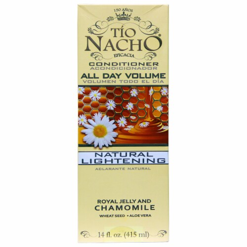 Tia Nacho Royal Jelly and Chamomile Natural Lightening All Day Volume Conditioner Perspective: front
