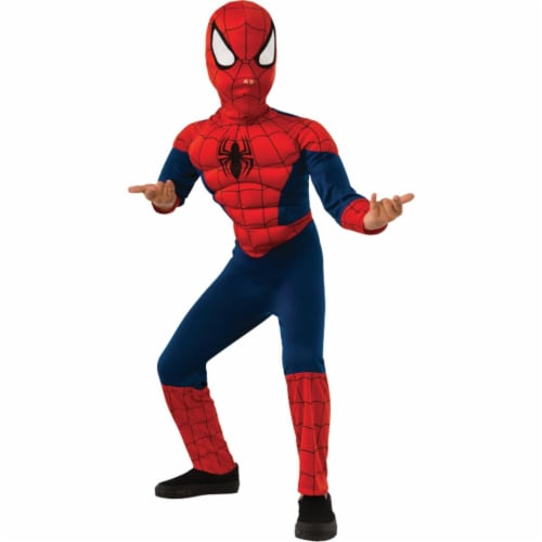 Morris Costume RU620010SM Spiderman Muscle Child Costume, Small Perspective: front