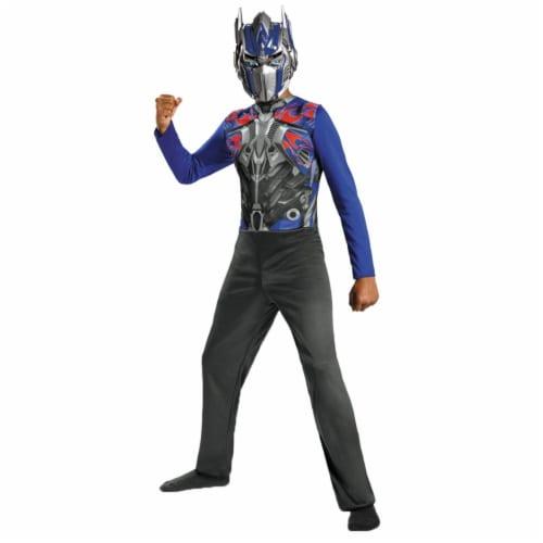 Morris Costumes DG73505L Optimus Prime Basic Child Costume, Size 4-6 Perspective: front