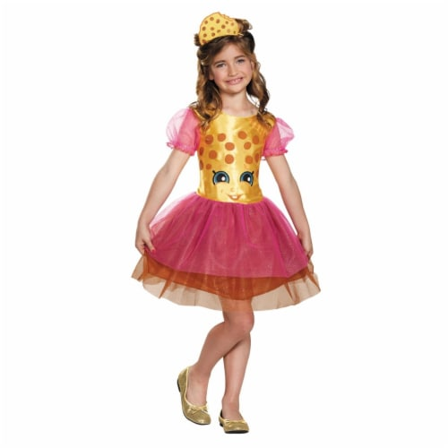 Morris Costumes DG98803L Kookie Cookie Classic Costume, Size 4-6 Perspective: front