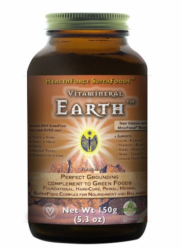 HealthForce Superfoods  Vitamineral Earth™ Perspective: front